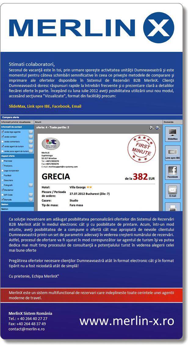 Newsletter MerlinX